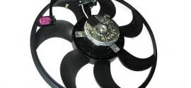 Вентилятор радиатора охлаждения прав. Audi Q7 (2006-2015)