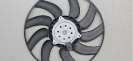 Вентилятор радиатора охлаждения лев. Audi Q5 (2008-2016)